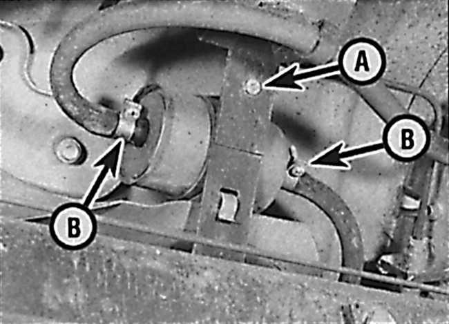 замена топливного фильтра на опель омега мануал