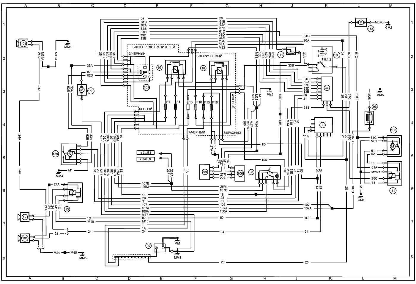 пассат б5 руководство по эксплуатации электросхемы