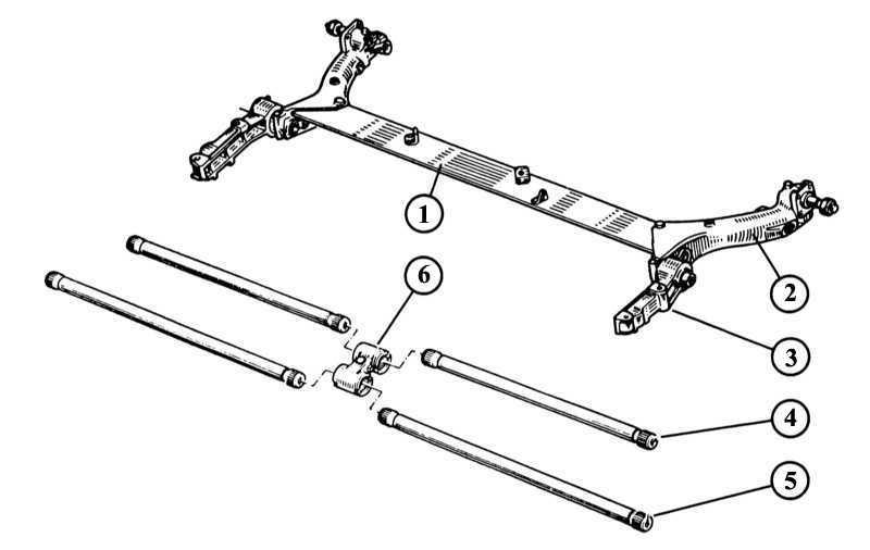2 — продольный рычаг подвески