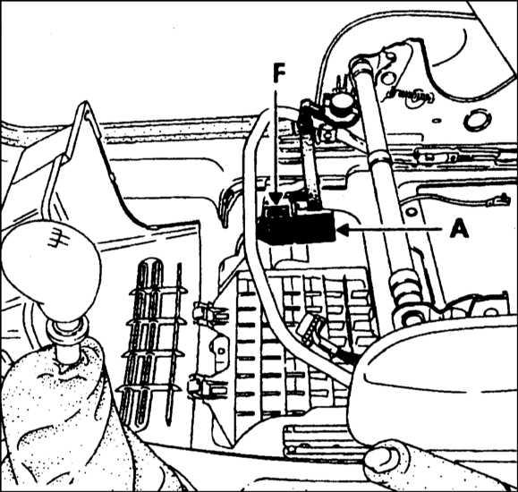 F — Плавкий предохранитель 60А