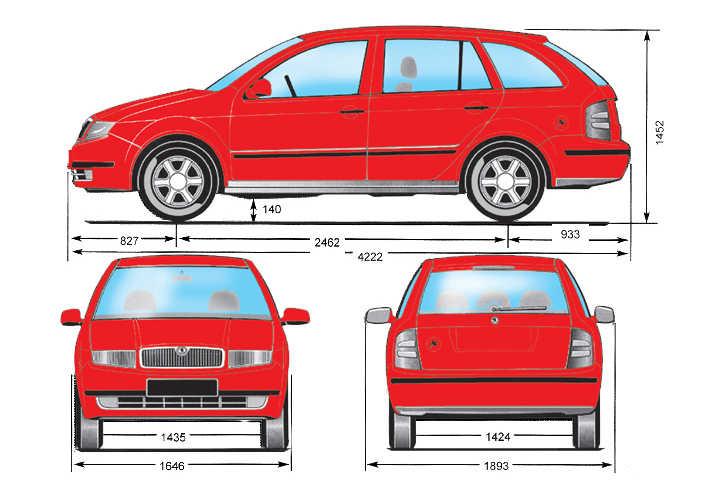 автомобиля Skoda Fabia 1.4