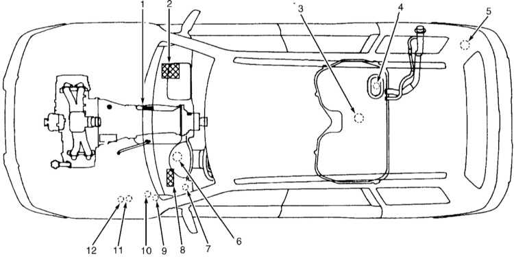 схема рулевого управления audi a6