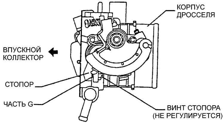 опель омега выключатель дроссельной заслонки проверка омметром