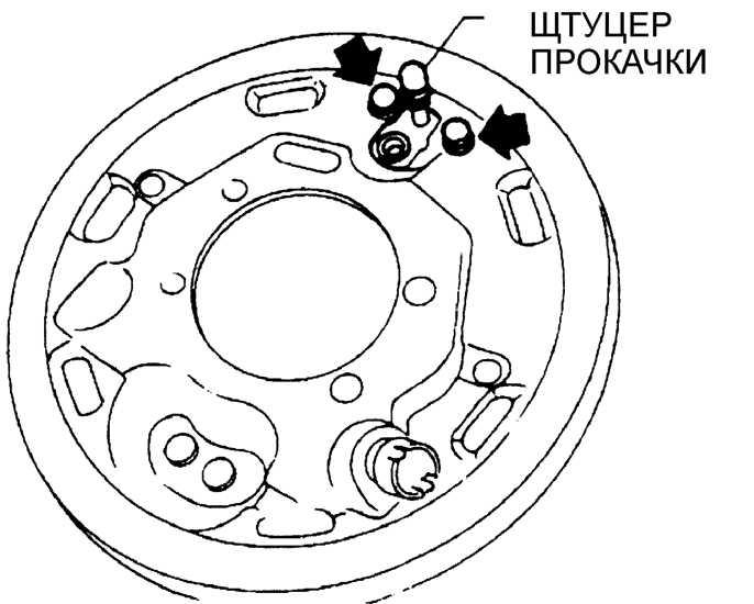ремонт задних дисковых тормозов на ауди 80