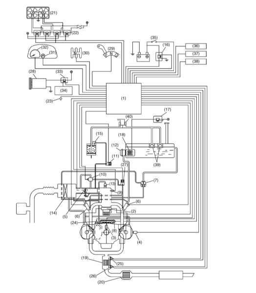 2 — Модуль зажигания