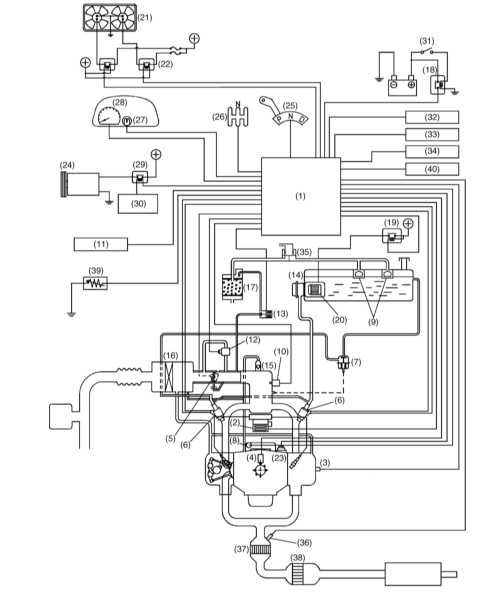 9 —Клапан отсечки топлива