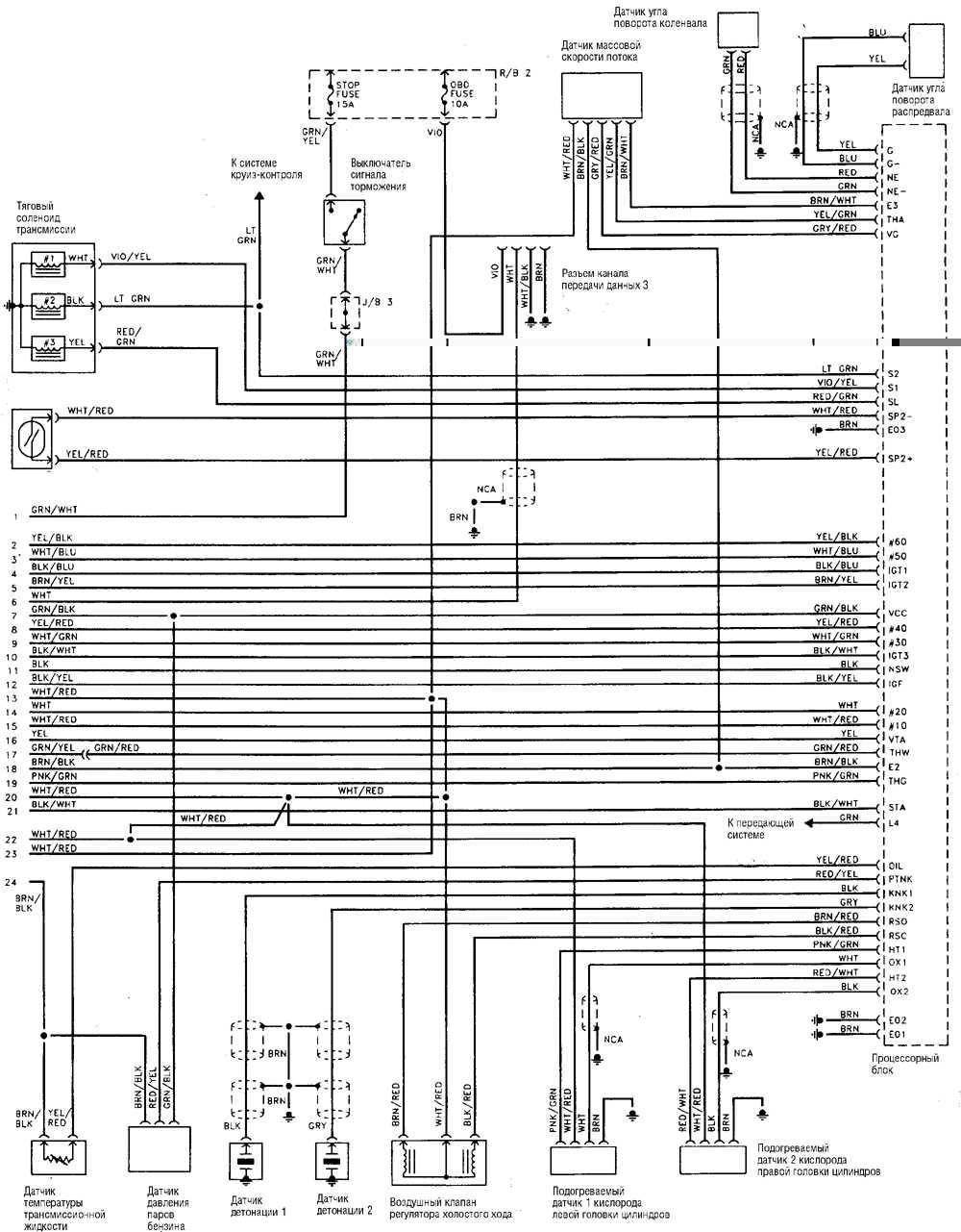 схема стеклоподъемников мерседес w210