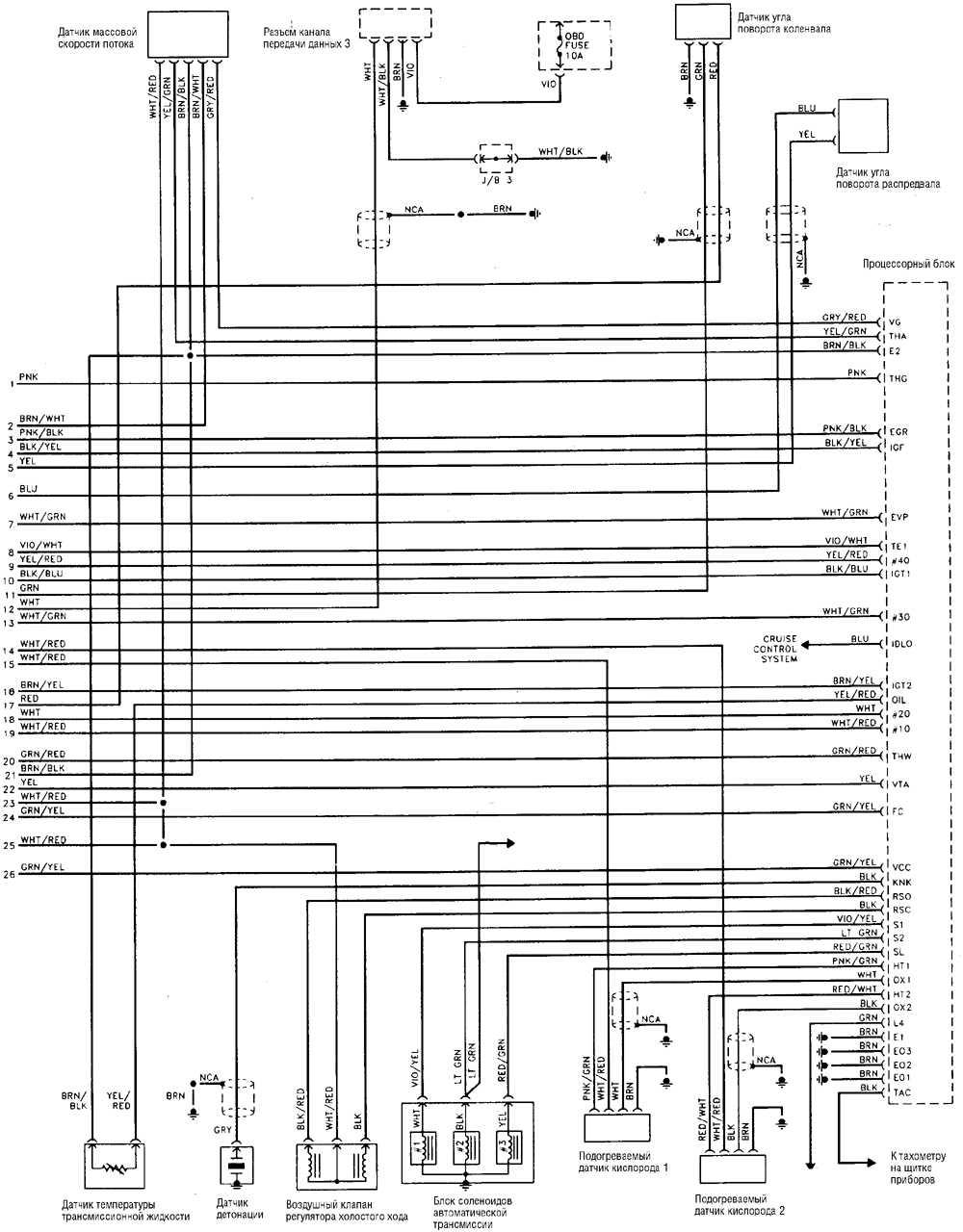 схема электропроводки hyundai tucson