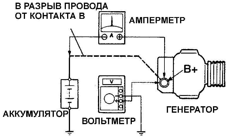 Схема подсоединения