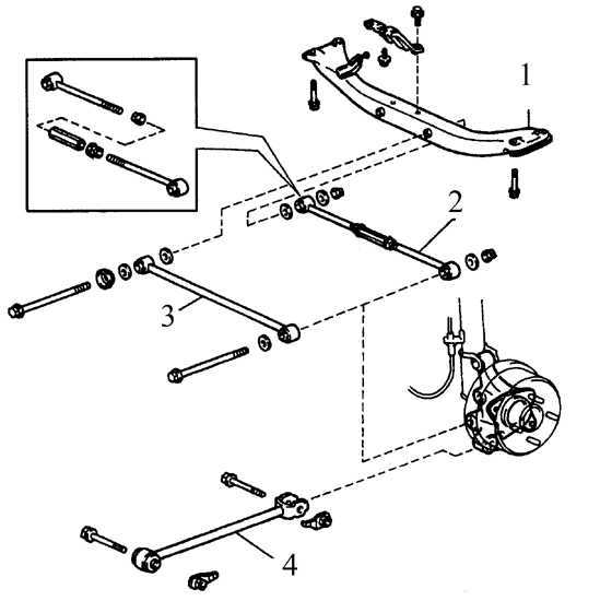 Поперечная тяга подвески N2