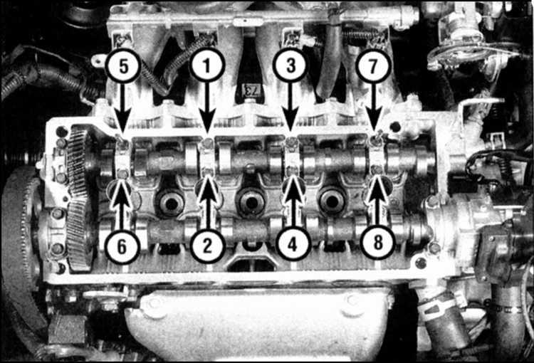 (двигатели 1,6 л и 1,8 л)
