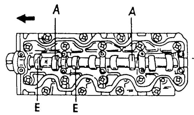 регулировка клапанов тоета корола 1.3 1989 год