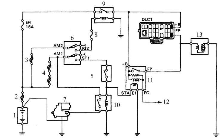 Схема инвертора car600