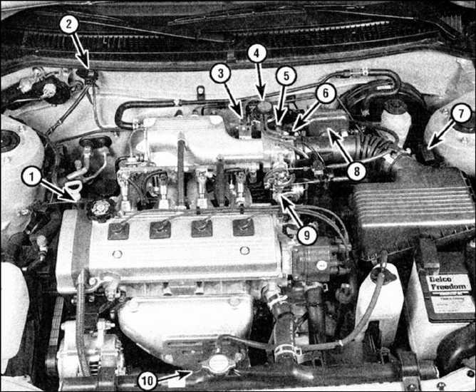 вакуумные датчики хонда цивик 1.3 1994