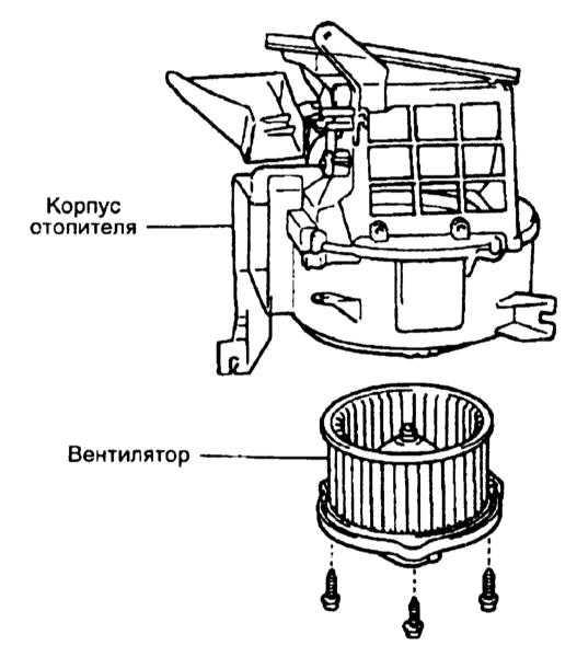 замена моторчика печки на мерседес витара 2005 года