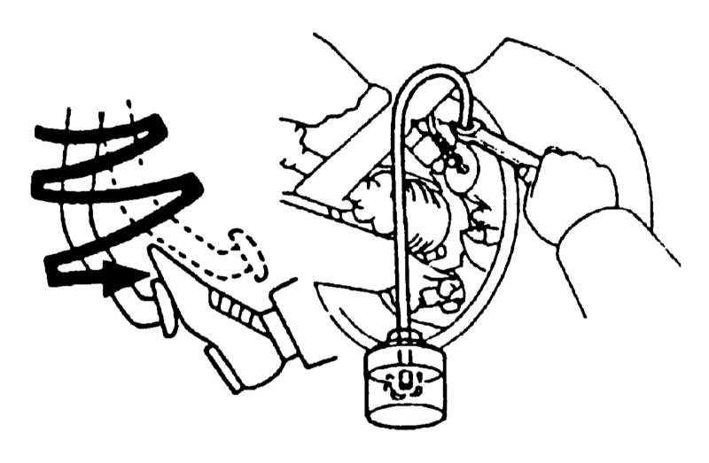 Как прокачать тормоза тойота авенсис