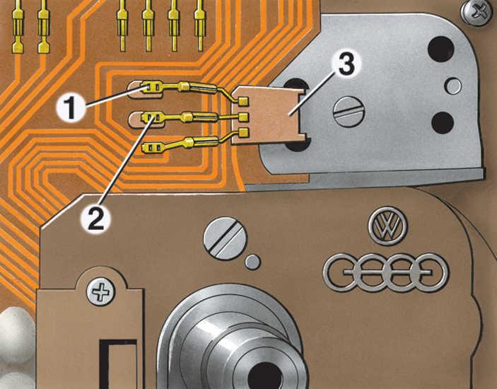 комбинация приборов фольксваген гольф 2 электросхема