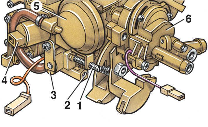 Схема двигателя шкоды фелиция карбюратор на