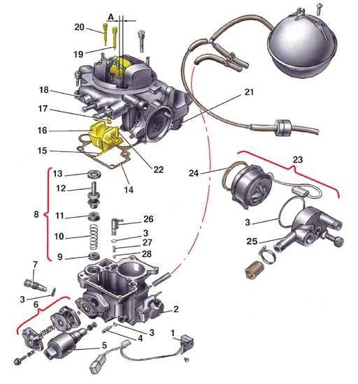 Схема подключения вакуумных трубок фото 352