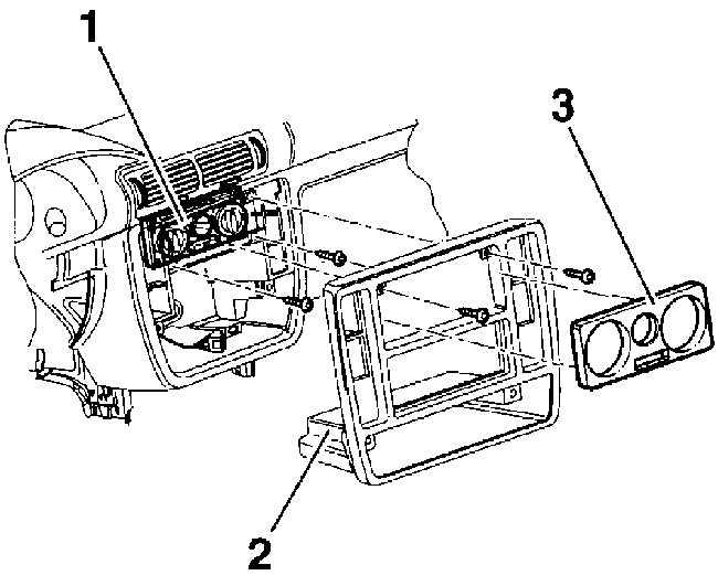 накладки на панель управления отопителем honda