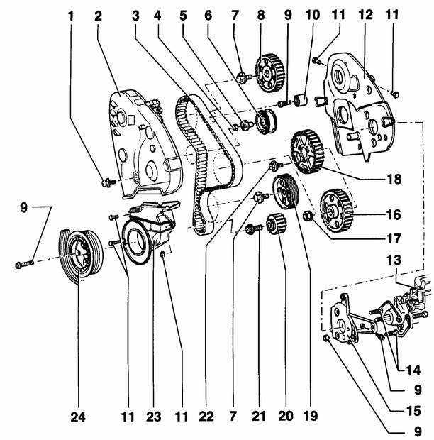 2.5. Дизельный двигатель 1