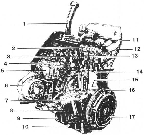 устройство дизельного двигателя фольксваген транспартер -т-5
