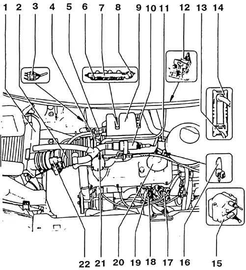 1. Воздушный фильтр