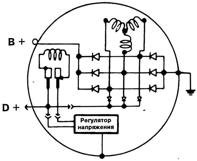 как соединить провод на генератор фольксваген т4