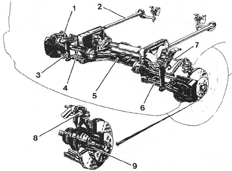 ремонт подвески фольксваген т-4 своими руками